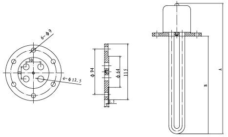 SRY2/SRY4管状电加热器