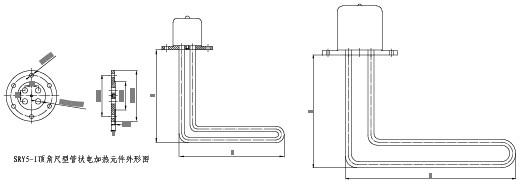 SRY5 管状电加热器