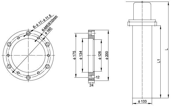 SRY6-8 护套式加热器