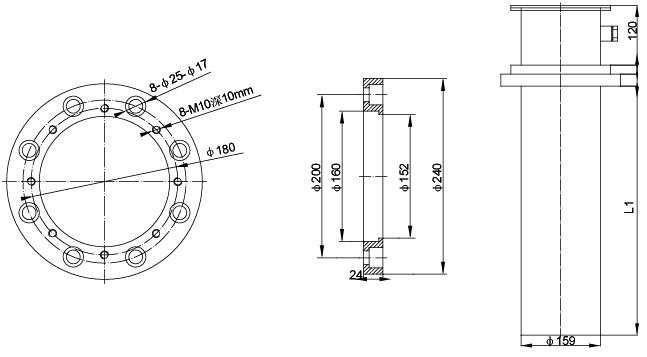 SRY6-9 护套式加热器