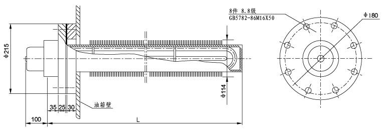SRY8 管状电加热器